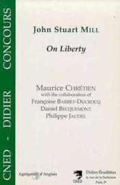 John stuart mill-on liberty - Couverture - Format classique