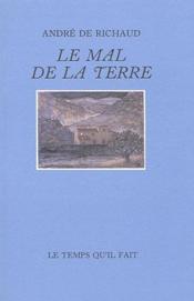 Mal De La Terre (Le) - Couverture - Format classique