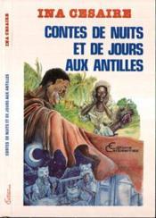 Contes de nuit et de jours aux Antilles - Couverture - Format classique