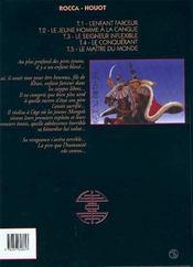 Le khan t.5 ; le maitre du monde - 4ème de couverture - Format classique