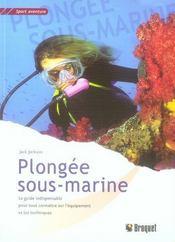 Plongee Sous-Marine - Intérieur - Format classique