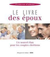 Le livre des epoux ; promesse d'amour - Couverture - Format classique