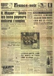 France Soir 6 Eme Edition N°1106 du 20/07/1948 - Couverture - Format classique