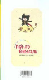 Niji-iro tohgarashi t.2 - 4ème de couverture - Format classique