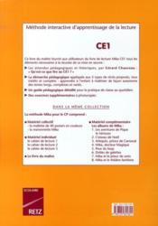 CE1 ; livret pédagogique - Couverture - Format classique
