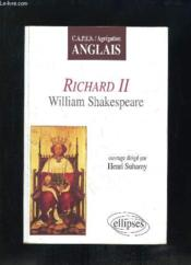 Richard Ii William Shakespeare Capes/Agregation Anglais - Couverture - Format classique