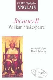 Richard Ii William Shakespeare Capes/Agregation Anglais - Intérieur - Format classique