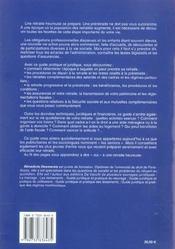 Guide Juridique Et Pratique De La Retraite Et De La Preretraite 2005 - 4ème de couverture - Format classique