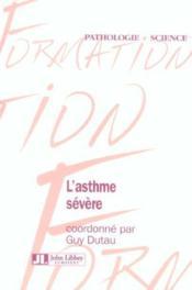 L'Asthme Severe - Couverture - Format classique