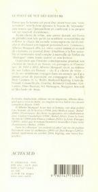 Journal D'Un Lecteur - 4ème de couverture - Format classique