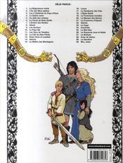 Thorgal T.30 ; Moi, Jolan - 4ème de couverture - Format classique