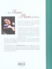 Mes Tians Et Flans Preferes - 4ème de couverture - Format classique