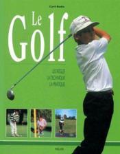 Le golf - Couverture - Format classique