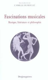 Vente  Fascinations Musicales  - Camille Dumoulie