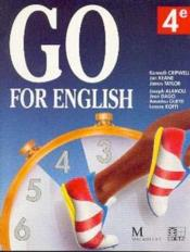 Go For English 4e (Afrique De L'Ouest) - Couverture - Format classique