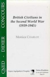 Societe anglaise 1939-45(la) - Couverture - Format classique