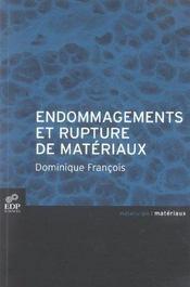 Endommagements et rupture de matériaux - Intérieur - Format classique