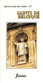 Saints De Belgique - Couverture - Format classique