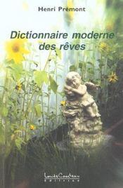 Dictionnaire Moderne Des Reves - Intérieur - Format classique