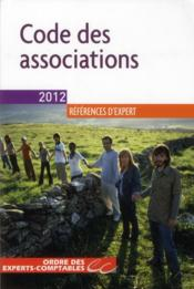 Vente  Code des associations ; plan de comptes associations & fondations (édition 2012)  - Collectif