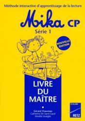 Mika cp ; série 1 ; livre du maître - Couverture - Format classique