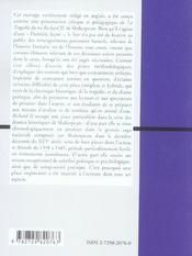 Richard Ii William Shakespeare - 4ème de couverture - Format classique
