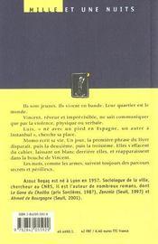 Dis Oualla ! - 4ème de couverture - Format classique