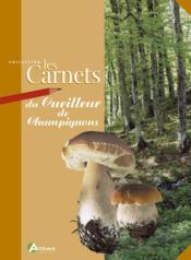 Carnet du cueilleur de champignon - Couverture - Format classique