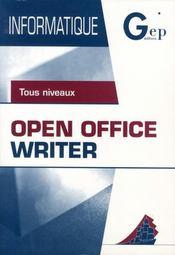 Open office writer - Intérieur - Format classique