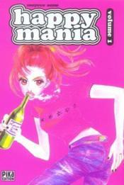 Happy Mania T.1 - Couverture - Format classique