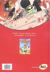 Noodles t.1 ; Kikitte - 4ème de couverture - Format classique