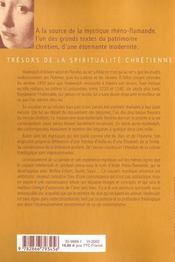 Les Lettres ; La Perle De L'Ecole Rheno-Flamande - 4ème de couverture - Format classique