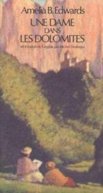 Une Dame Dans Les Dolomites - Couverture - Format classique
