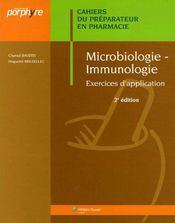 Microbiologie, immunologie (2e édition) - Intérieur - Format classique