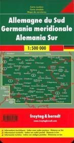 Germany South - 4ème de couverture - Format classique