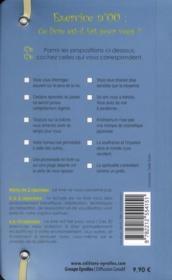 50 exercices de spiritualité - 4ème de couverture - Format classique