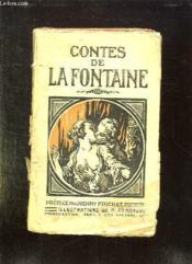 Contes De La Fontaine. - Couverture - Format classique