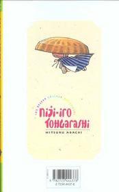 Niji-iro tohgarashi t.4 - 4ème de couverture - Format classique