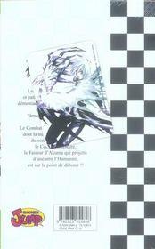 D.gray-man t.1 ; prologue - 4ème de couverture - Format classique