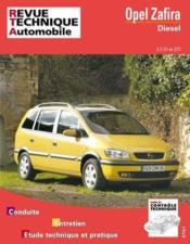 Rta 633.2 Opel Zafira D 2.0 Di 2.0/2.2 Dti(99-2005) - Couverture - Format classique