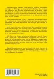 Les Canards - 4ème de couverture - Format classique