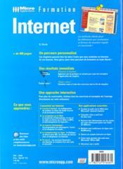 Formation internet - 4ème de couverture - Format classique