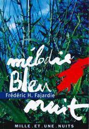 Melodie Bleu Nuit - Intérieur - Format classique