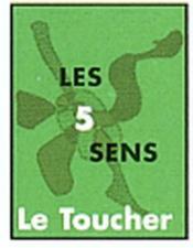 Les cinq sens le toucher mini livre collection 3/2 32 3 2 mini book - Couverture - Format classique