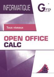 Open office calc - Couverture - Format classique