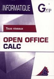 Open office calc - Intérieur - Format classique
