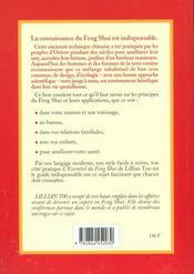 Essentiel Du Feng Shui (L') - 4ème de couverture - Format classique