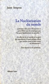 La nucléarisation du monde - Couverture - Format classique