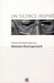 Un silence inspiré - Intérieur - Format classique