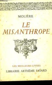 Le Misanthrope - Couverture - Format classique